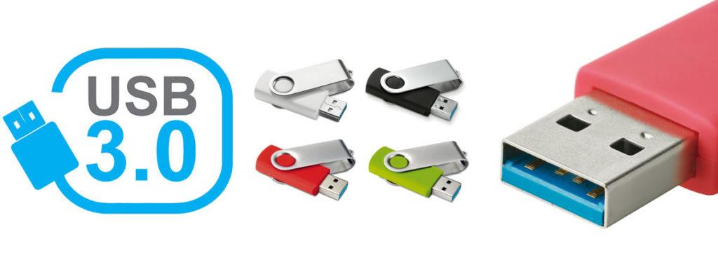 USB 3.0 GADGET REGALO LOGO