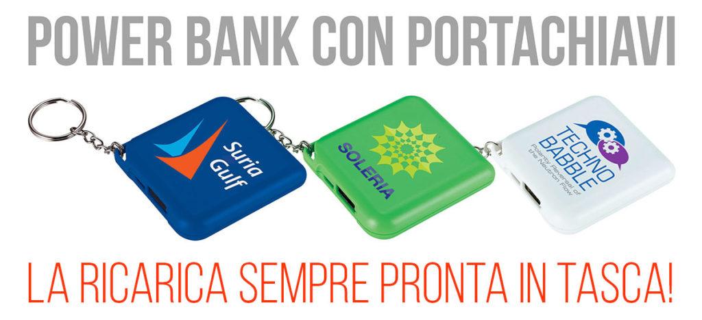 POWER BANK PORTACHIAVI