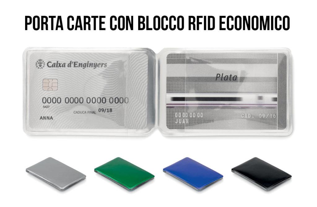 PORTA CARTE DI CREDITO CON BLOCCO RFID MIDMO9023