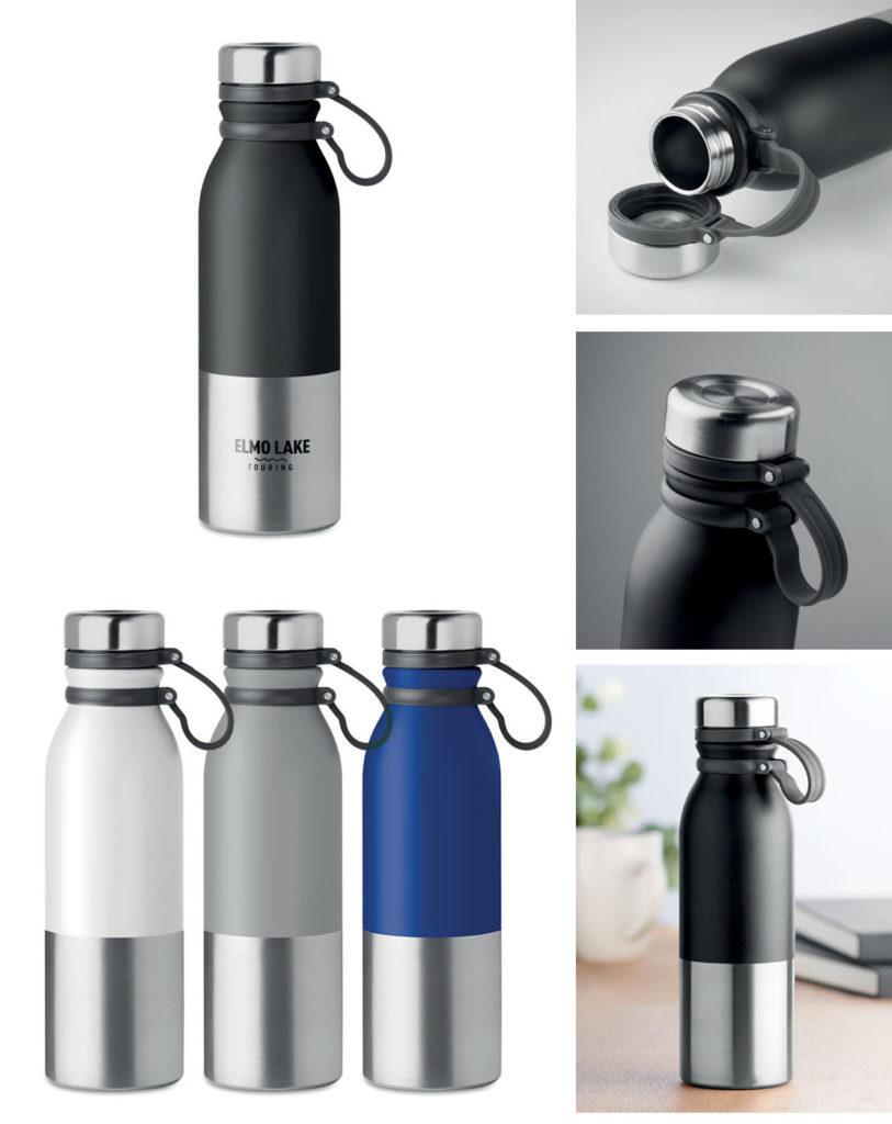 Bottiglia in metallo personalizzata