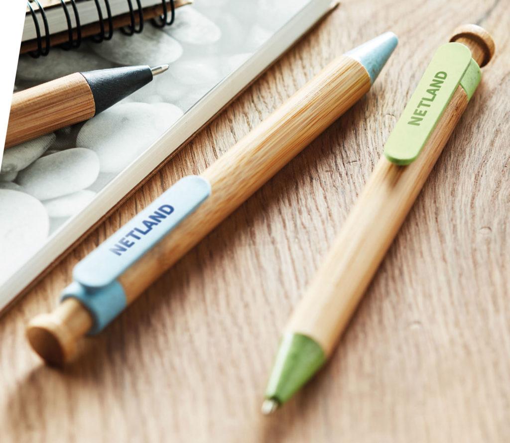 Penne ecologiche personalizzate