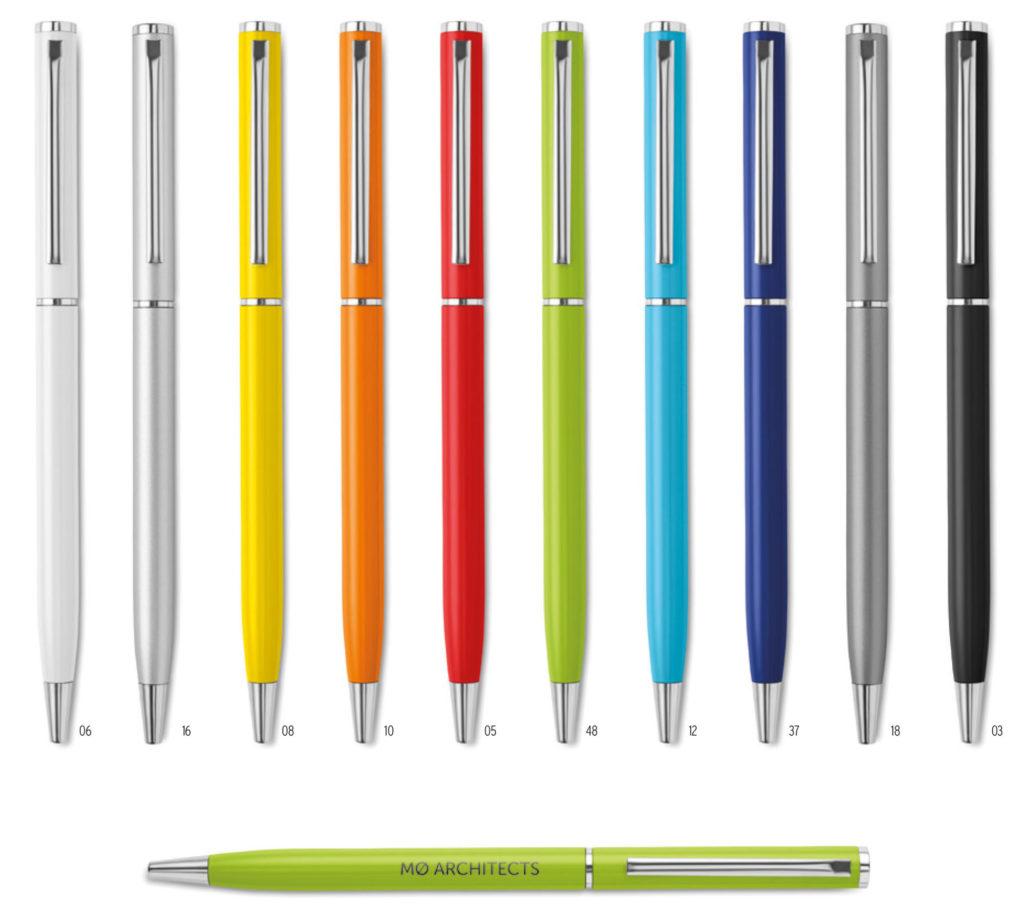 Penna in metallo personalizzata
