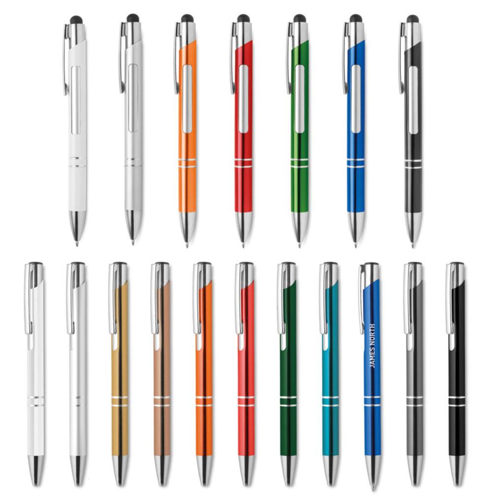 Penne personalizzate in metallo