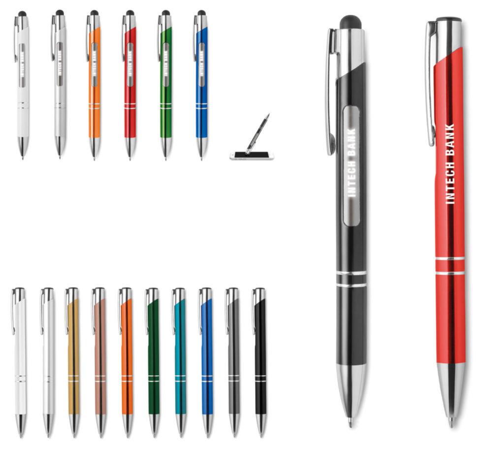 Penne con personalizzazione con luce LED