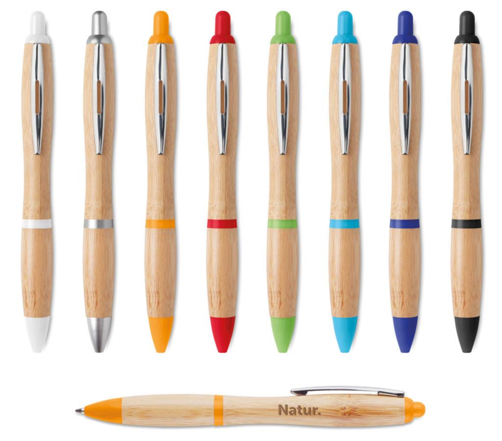 Penne personalizzate in legno