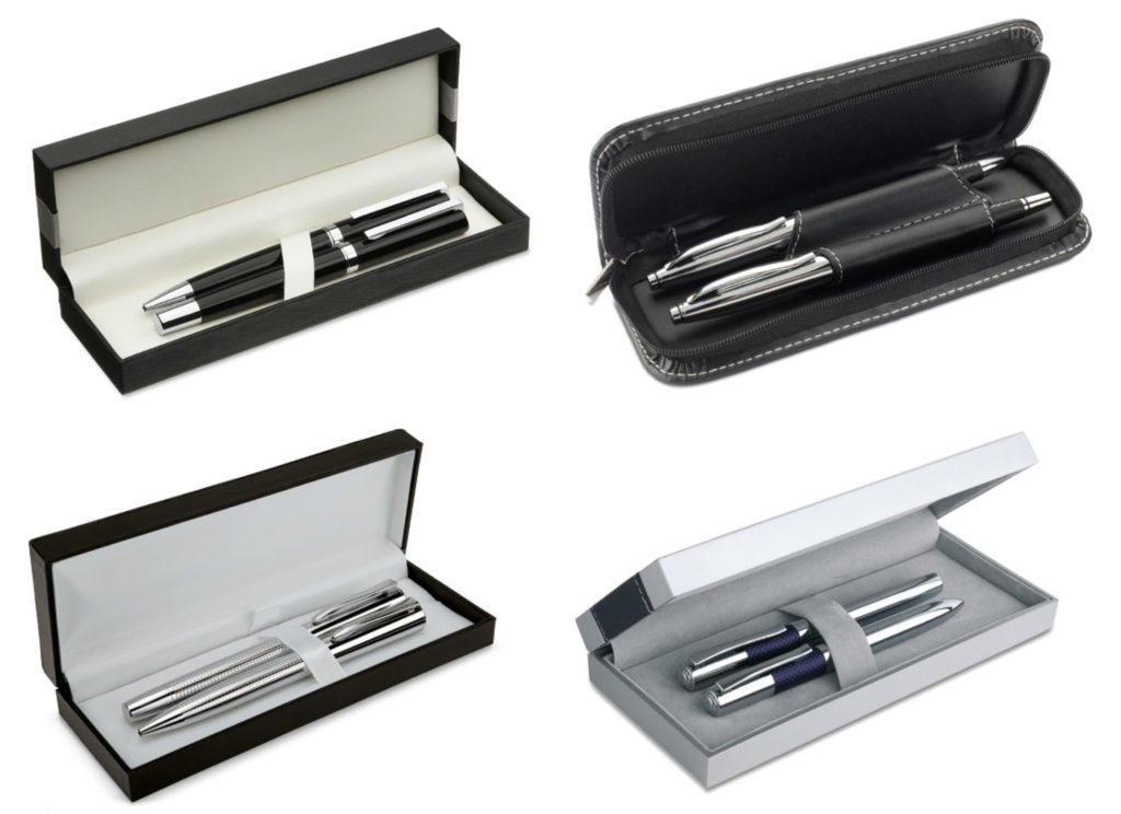 Penne personalizzate eleganti con confezione in set