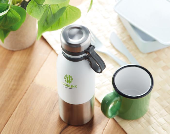 Gadget Ecologici Personalizzati Borraccia termica personalizzata in acciaio