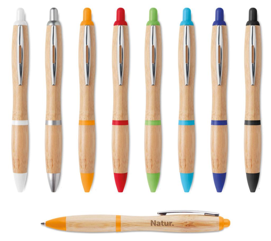 Gadget Ecologici Personalizzati Penne personalizzate in legno
