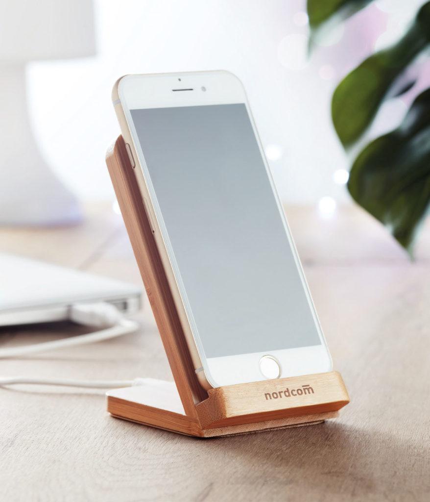 Porta cellulare con ricarica wireless