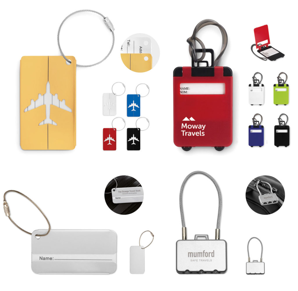etichette per bagaglio personalizzate