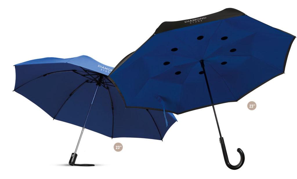 Ombrelli anti vento personalizzati