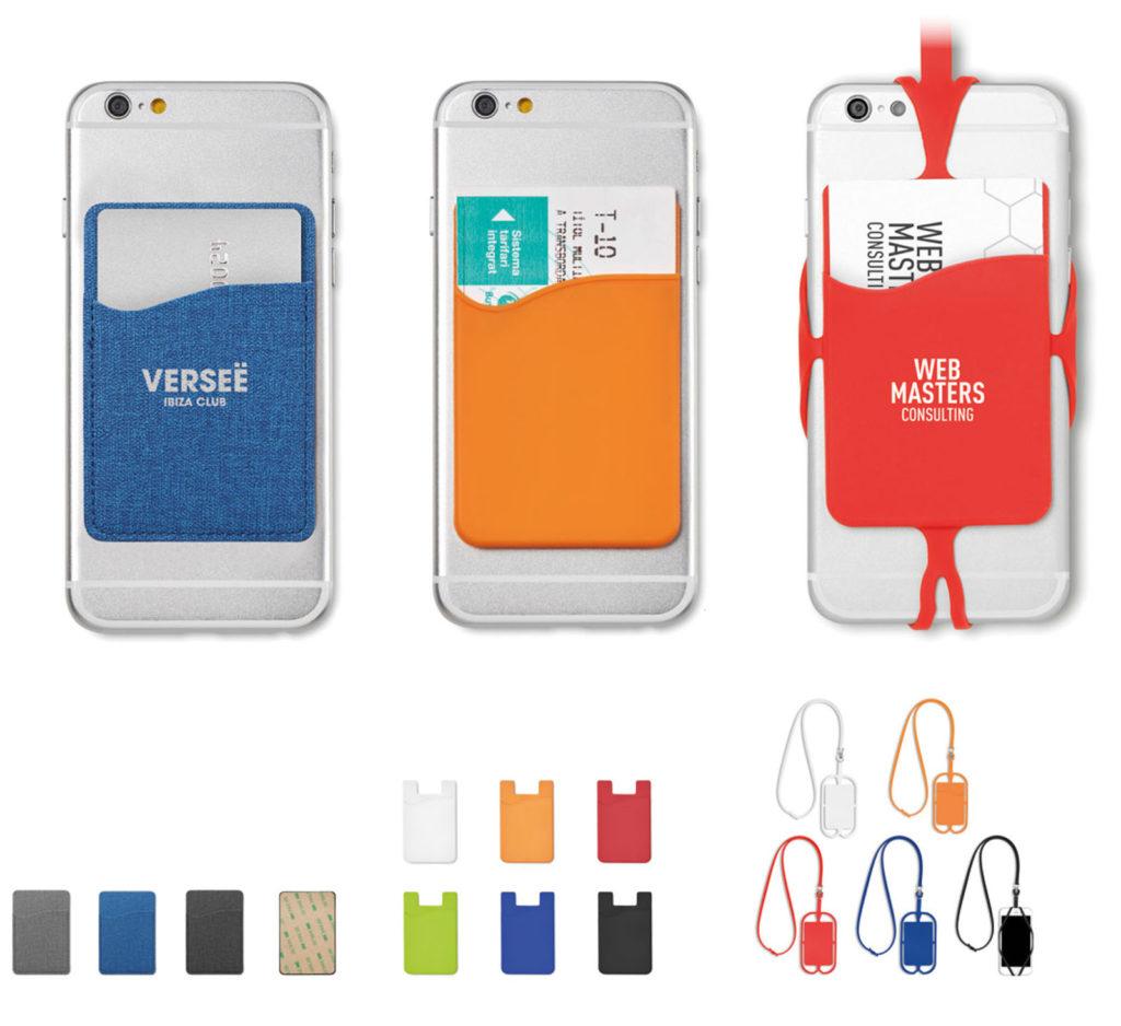 Porta card da cellulare
