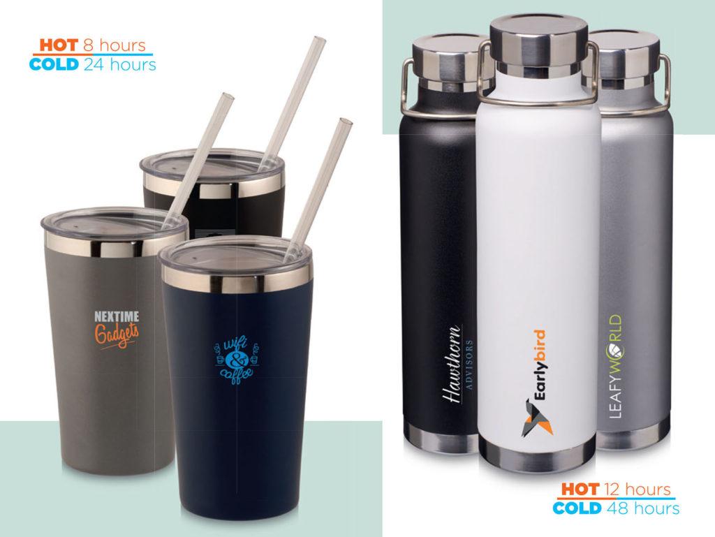 Bottiglie e tazze termiche ecologiche
