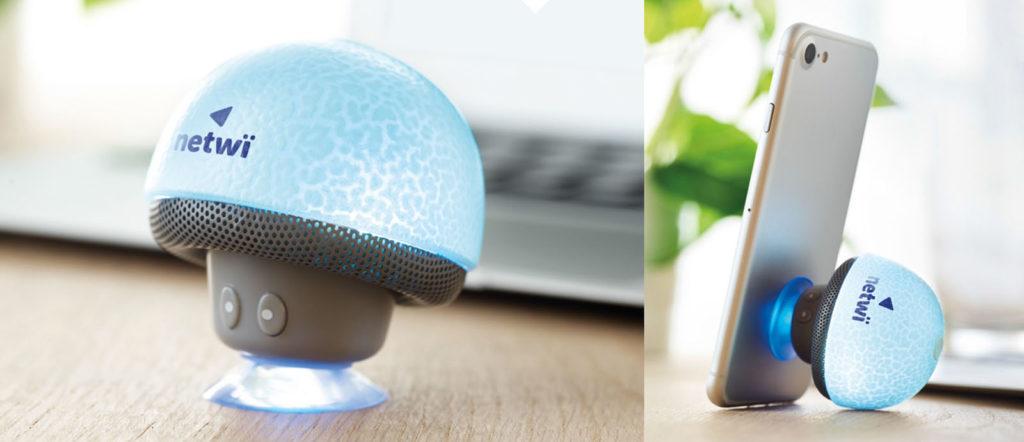 funghetto speaker personalizzato