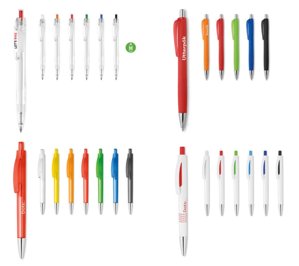 Penne in plastica Personalizzate con logo