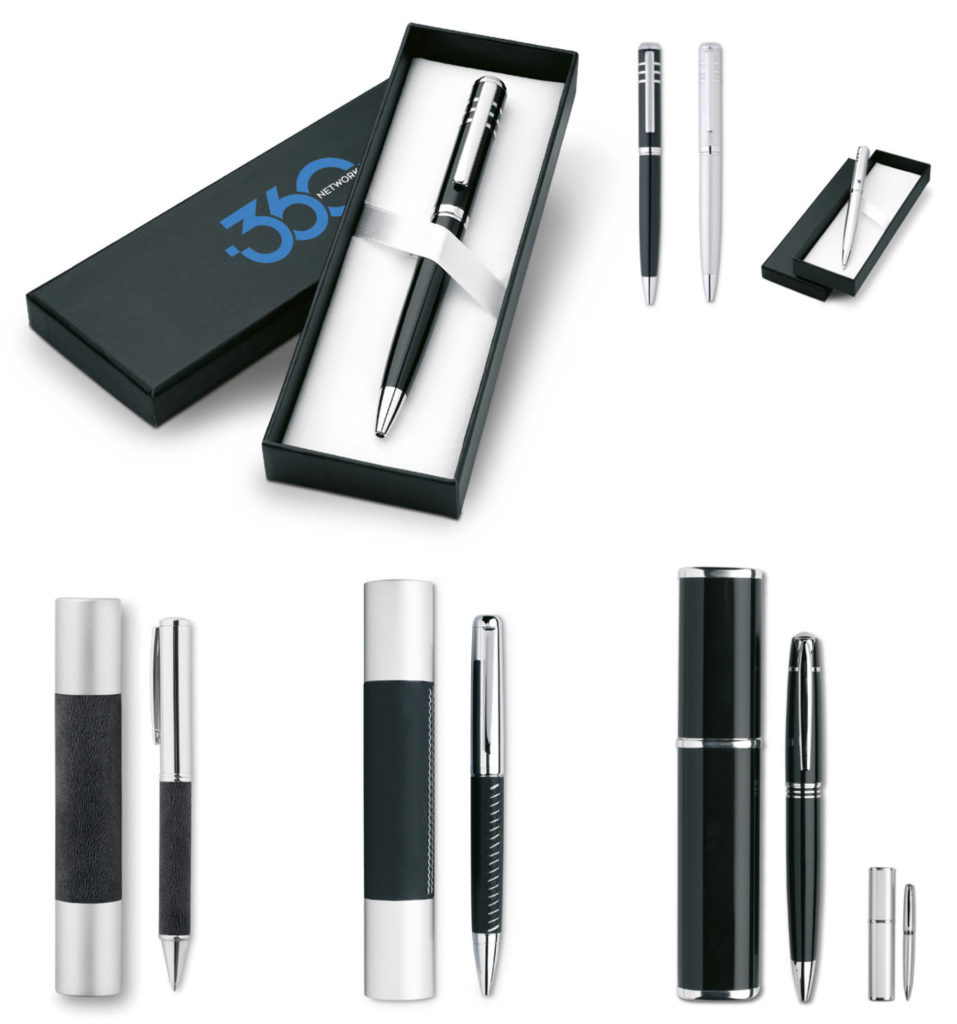 Penne Personalizzate con logo con astuccio regalo