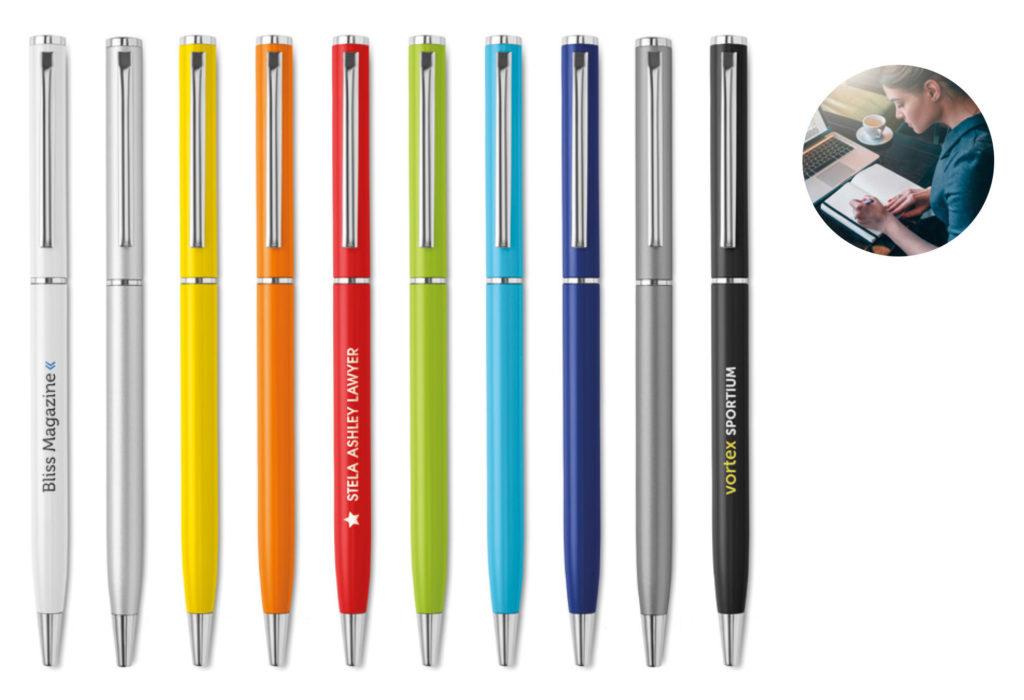 Penne in metallo personalizzate