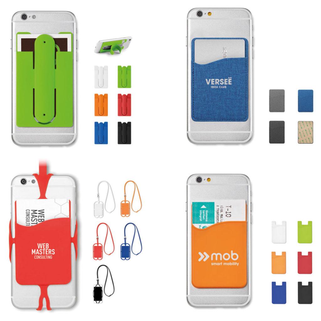 porta card per cellulare personalizzato