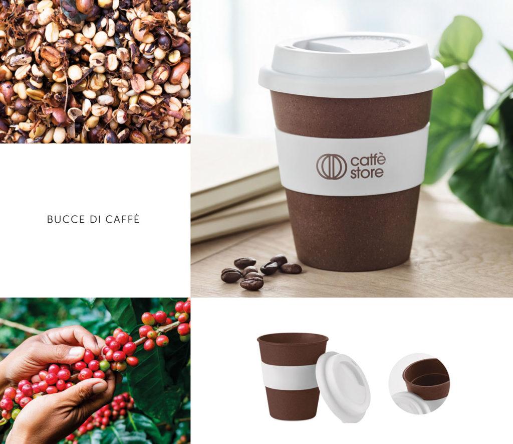 tazza caffè in materiale riciclato