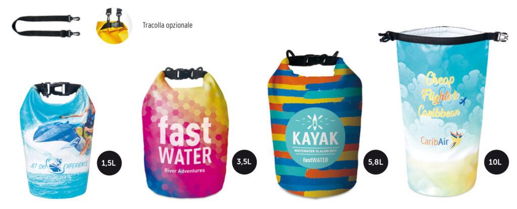 borse nautiche personalizzate